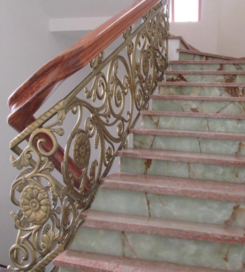 Cầu thang nhôm đúc - CT040