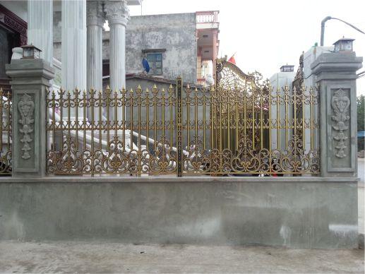 Hàng rào nhôm đúc mẫu HR -033