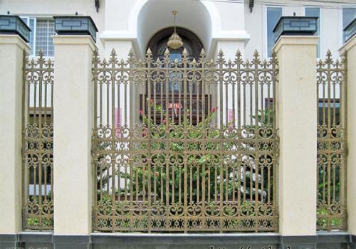 Hàng rào nhôm đúc mẫu HR -026