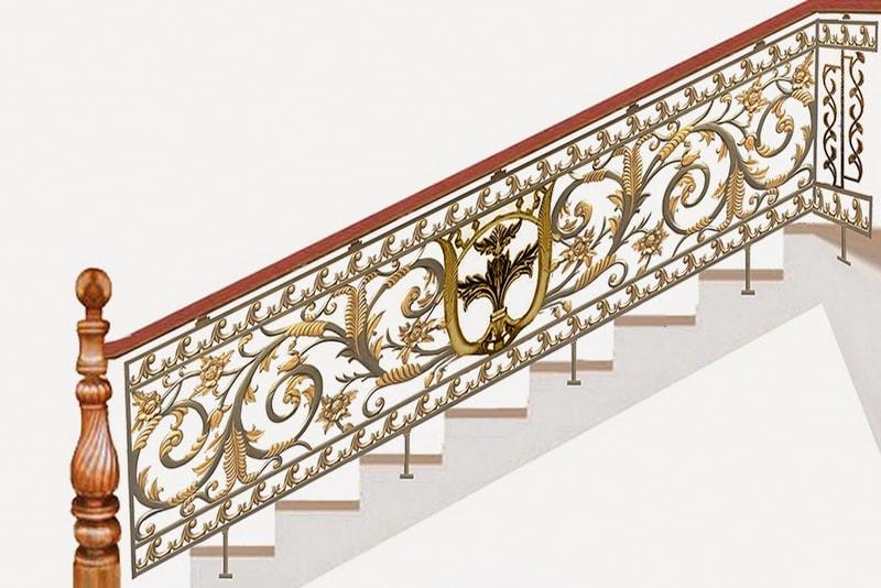 Cầu thang nhôm đúc - CT018