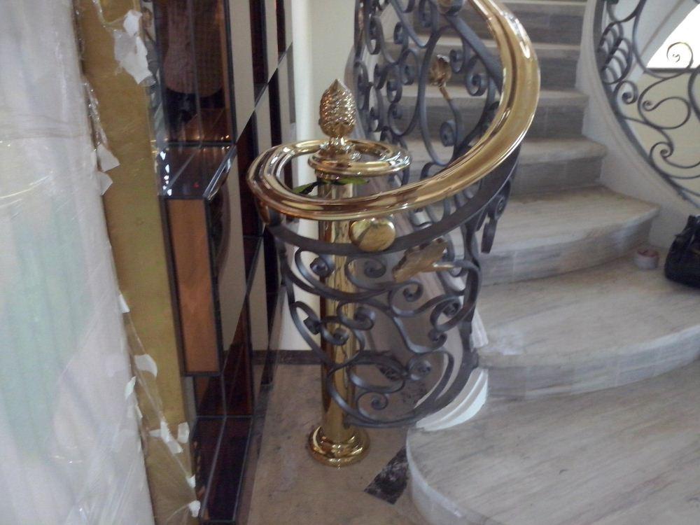 Cầu thang nhôm đúc - CT044