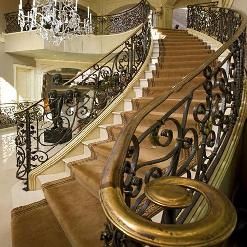 Cầu thang nhôm đúc - CT014