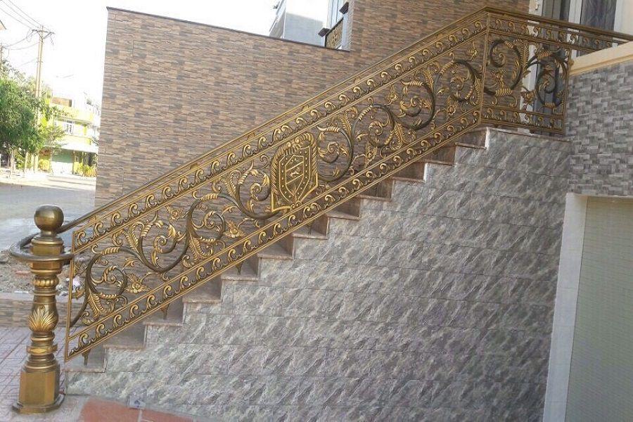 Cầu thang nhôm đúc - CT030
